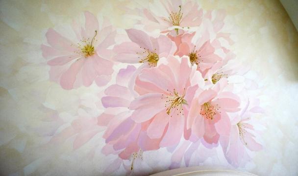 Декоративная штукатурка цветы 89