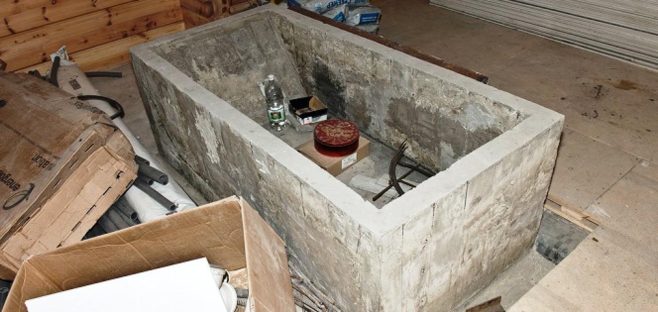 Ванна из бетона своими руками технология возведения Видео