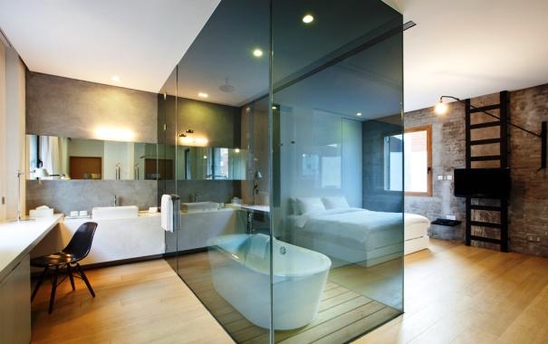 Изолированная ванная комната